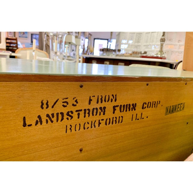 1960s Landstrom Furniture Co. Chinese Chippendale Sideboard For Sale - Image 10 of 13