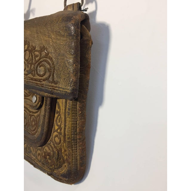Early 20th Century African Moroccan Shoulder Bag For Sale - Image 5 of 10