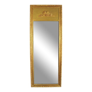 French-Style Trumeau Dressing Mirror For Sale