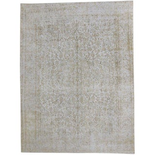 20th Century Turkish Rug With Muted, Neutral Colors For Sale