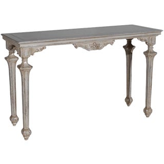 1990s Italian Neoclassical Console For Sale
