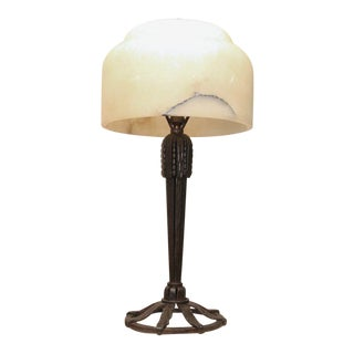 Art Deco Table Lamp by Raymond Subes For Sale