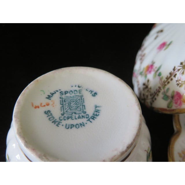 Vintage Antique Spode Copeland Stoke-Upon-Trent England Tiffany and Co. Company Tea Set For Sale In Washington DC - Image 6 of 7