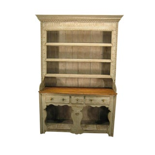 Early 19th Century Painted Irish Cupboard For Sale