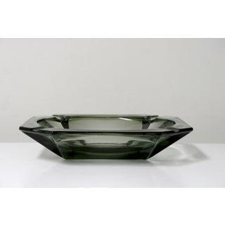 Vintage Smoke Glass Ashtray Preview