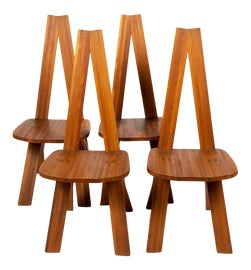 Image of Brown Dining Chairs