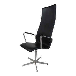 Mid-Century Modern Fritz Hansen Swivel Office Chair For Sale