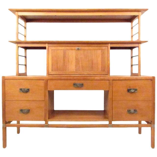 Stiehl Furniture Mid-Century Workstation - Image 1 of 9