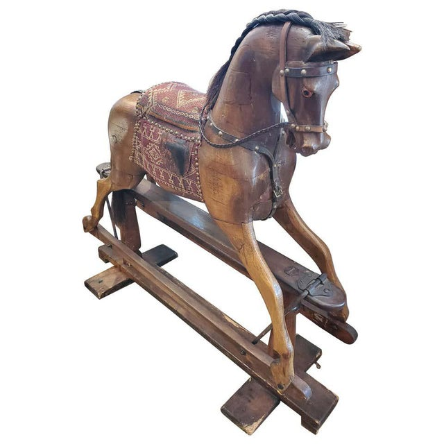 19th Century English Rocking Horse For Sale - Image 9 of 9
