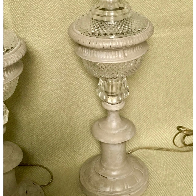 Marble Westwood Industries Regency Table Lamps - a Pair For Sale - Image 7 of 9