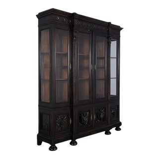Circa 1830's French Renaissance Style Bookcase For Sale
