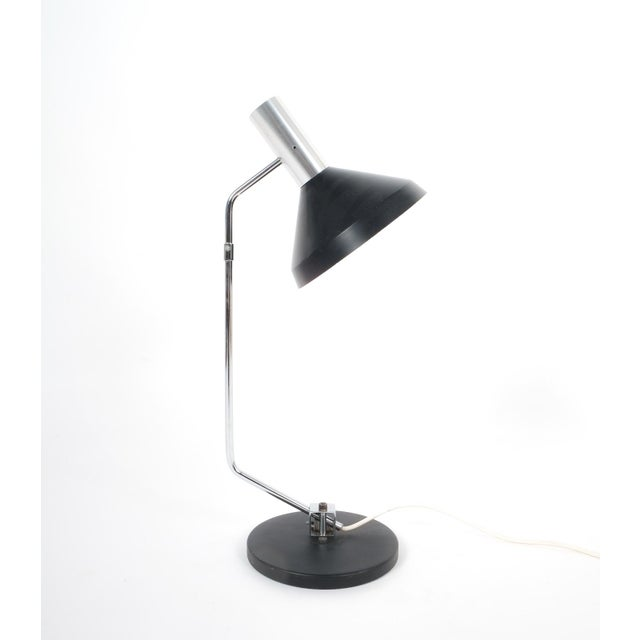 Rico and Rosemary Baltensweiler Articulated Swiss Table Lamp, 1960 For Sale - Image 6 of 6
