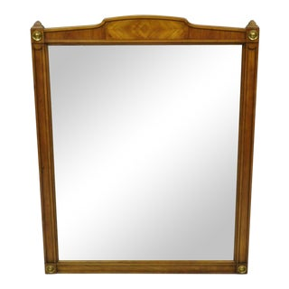 Kindel Belvedere French Regency Cherry Wood Frame Wall Mirror For Sale