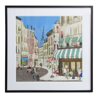 Tug Rice Cities Collection: Paris Drawing For Sale