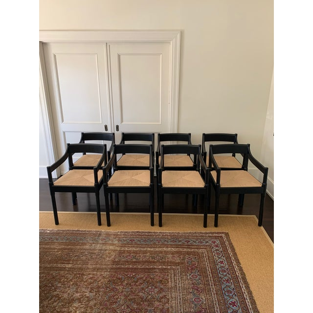 Wood Custom Made 'Charlotte Perriand' Style Chairs - Set of 8 For Sale - Image 7 of 7