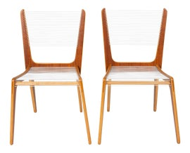 Image of Newly Made Brown Dining Chairs