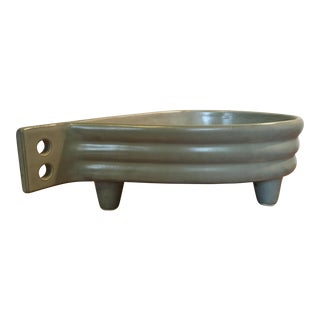 Mid Century Grey Ikebana Planter For Sale