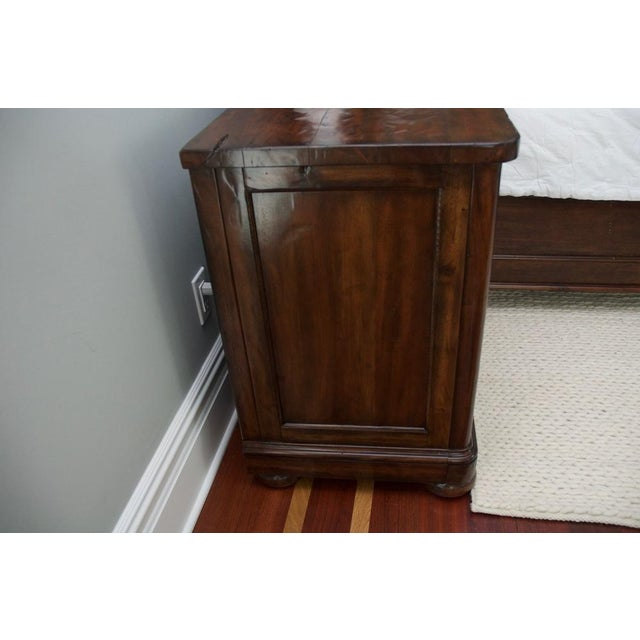 Brown Bernhardt Vintage Patina Nightstands - a Pair For Sale - Image 8 of 8