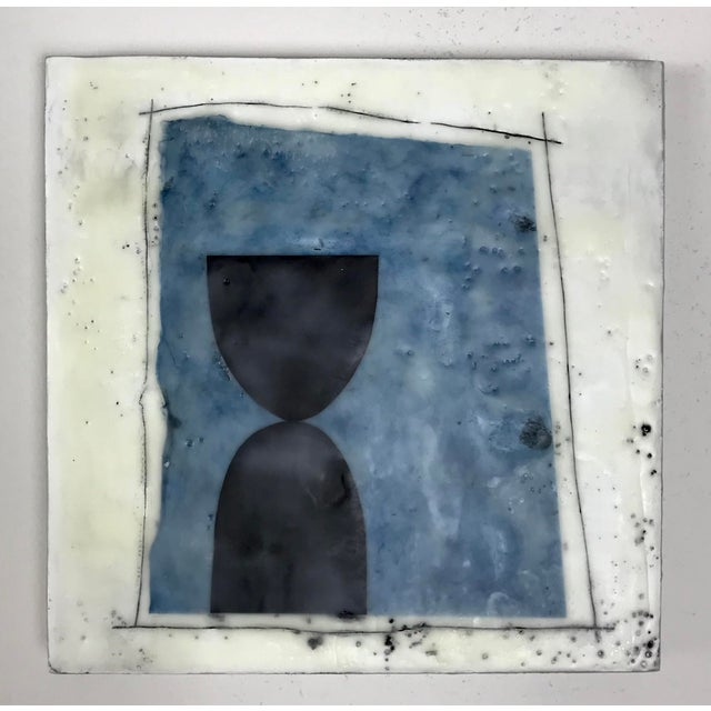 """Gina Cochran """"Road Trip"""" Encaustic Collages - 16 Pieces For Sale - Image 10 of 13"""