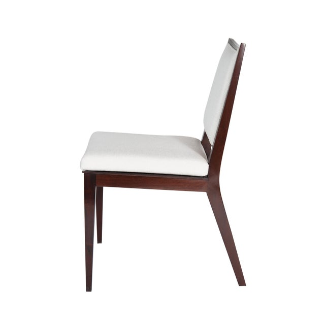 Set of 8 Frame Back Dining Chairs For Sale In New York - Image 6 of 7