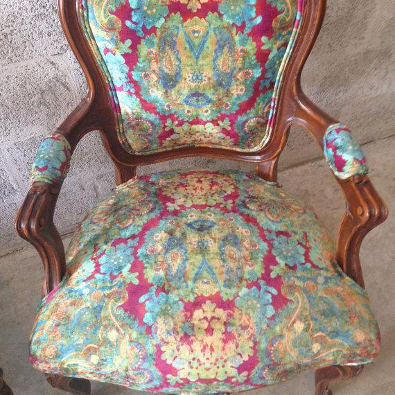 Multicolor Louis XVI Chairs - A Pair - Image 3 of 6