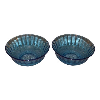 Tiara Indiana Glass Bowls - a Pair For Sale
