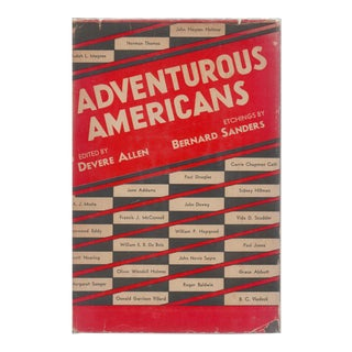 "1932 ""Adventurous Americans"" Collectible Book For Sale"