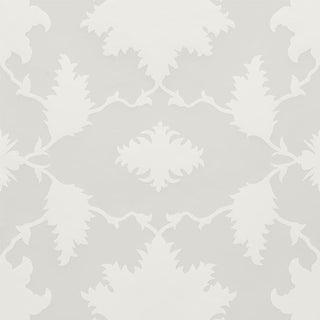 Sample - Schumacher X Mary McDonald Garden of Persia Wallpaper in Quartz For Sale
