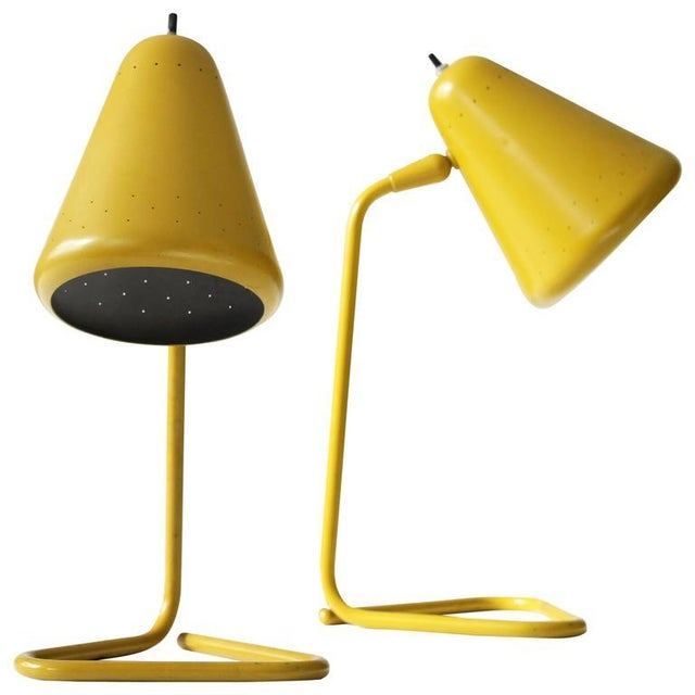 Kurt Versen Pair of Table Lamps - Image 1 of 2