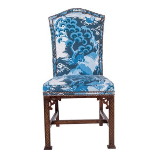 1900s Vintage Chinoiserie Hall/Side Chair For Sale