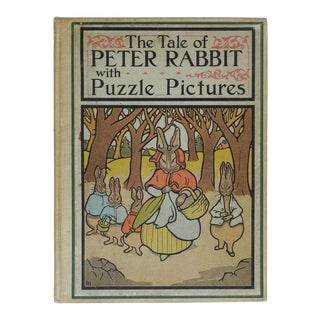 Tale of Peter Rabbit with Puzzle Pictures Book
