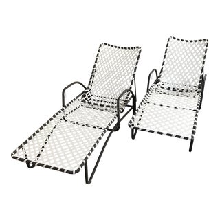 Brown Jordan Patio Chaise Loungers - a Pair For Sale