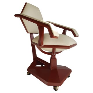 Frank Lloyd Wright Price Tower Secretary Armchair, 1955 For Sale