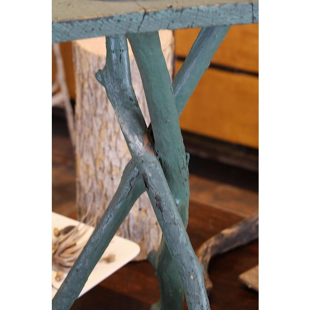 Vintage 3 Legged Branch Table - Image 2 of 4
