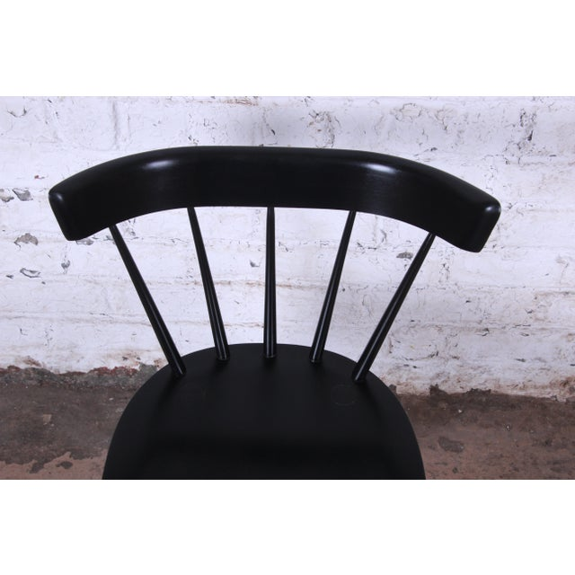Paul McCobb Ebonized Planner Group Dining Chairs - Set of 10 For Sale - Image 11 of 13