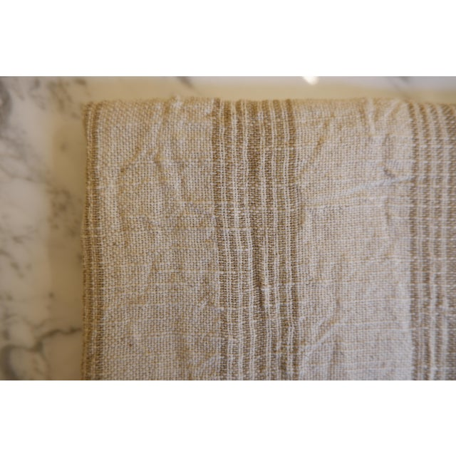 2020s Turkish Hand Made Towel With Natural/Organic Cotton and Fast Drying,37x73 Inches For Sale - Image 5 of 11