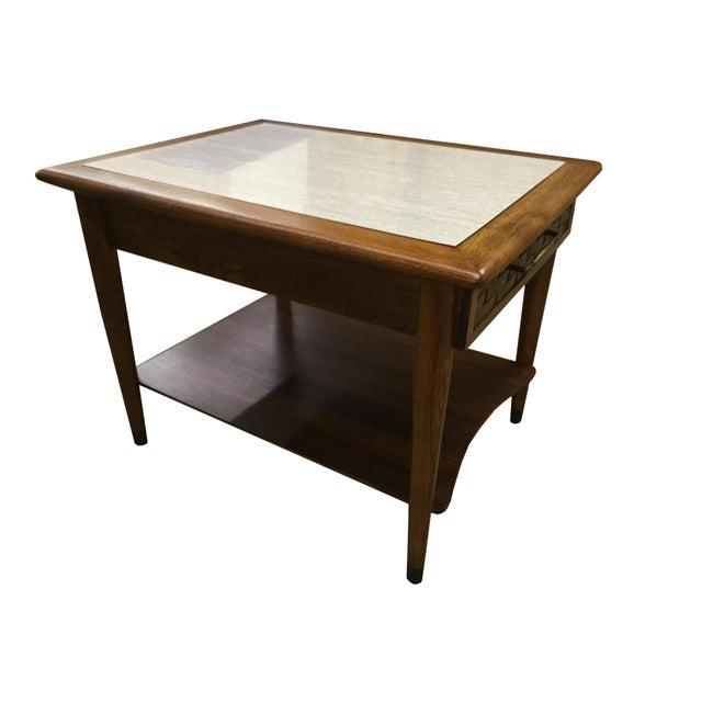 Mid-Century Modern Walnut Side Table - Image 5 of 6