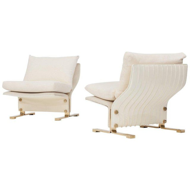 Pair of Lounge chairs by Marzio Cecchi, Italy, 1960s For Sale - Image 10 of 10