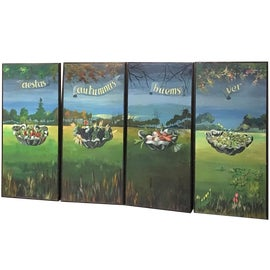 Image of Asparagus Paintings