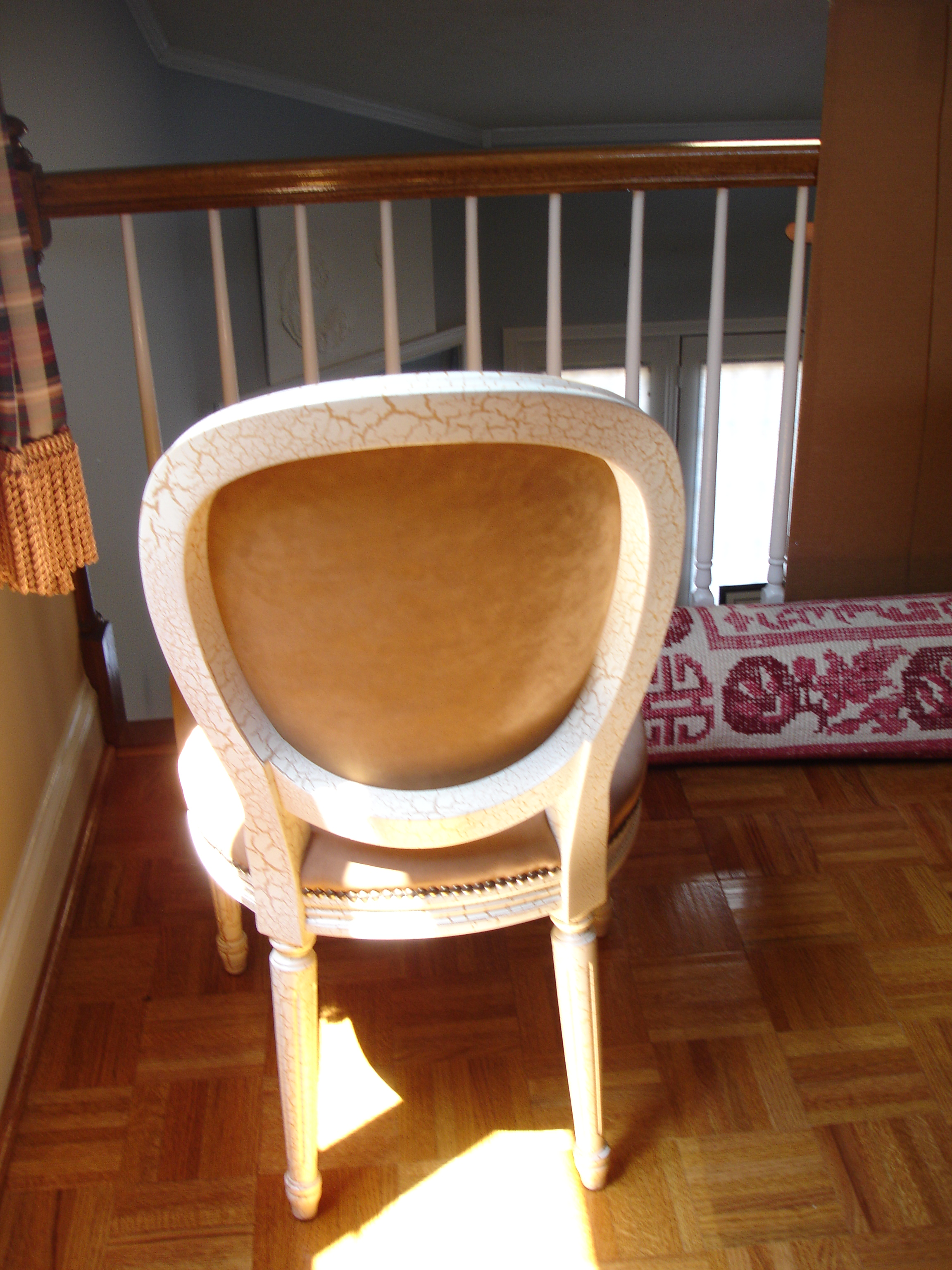 French Louis XVI Side Chairs   Set Of 2 For Sale   Image 3 Of 8
