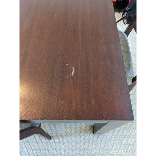 Ethan Allen Midtown Dining Table Set For Sale In San Francisco - Image 6 of 7