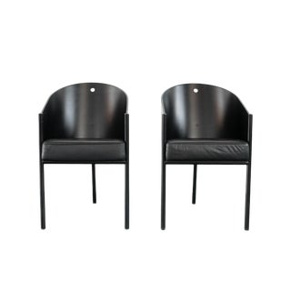 1980s Vintage Philippe Starck Chairs- A Pair For Sale
