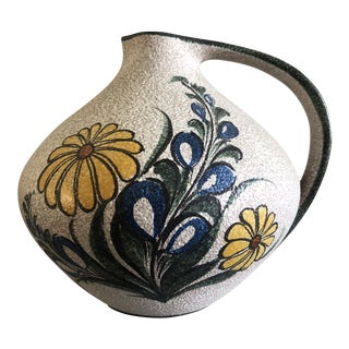 Ruscha Handgemalt Mg 315 Vessel Pitcher, 1960's For Sale