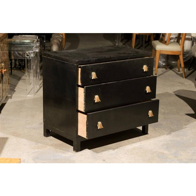 1950s Rare Chest by Robsjohn-Gibbings for Widdicomb, Choice of Lacquer Finish For Sale - Image 5 of 10