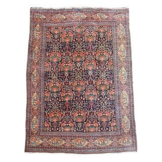 Tabriz Floral Carpet - 9′9″ × 13′6″ For Sale