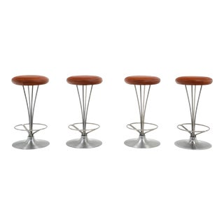 Piet Hein Counter Height Stools - Set of 4 For Sale