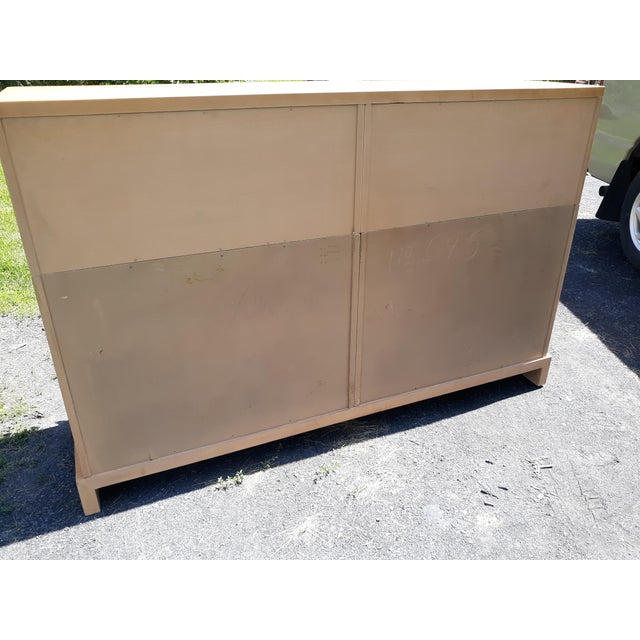 1940's C. G. Kimerly for Widdicomb 12 Drawer Chest For Sale - Image 9 of 13