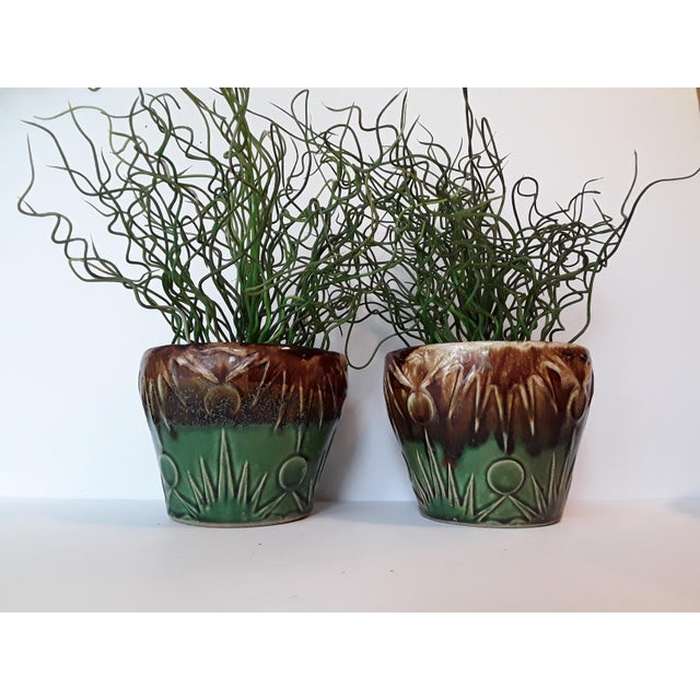 1940s Art Deco Art Pottery Planters - A Pair - Image 5 of 5