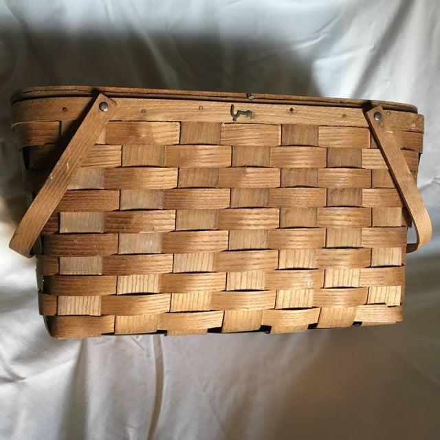 Vintage Basketville Putney Picnic Basket - Image 6 of 6