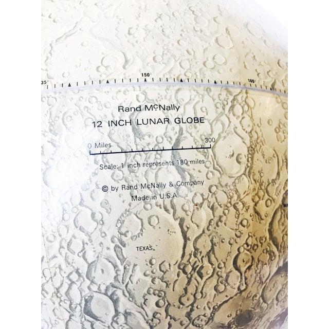 Mid Century Moon Globe - Image 4 of 5